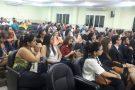 Aproximadamente 100 advogados lotaram auditório da Câmara Municipal em evento da ESA em Barra de São Francisco