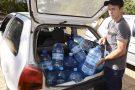 Moradores de Colatina evitam Rio Doce e buscam água em nascentes