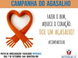 Fazer o bem aquece o coração. Faculdade Intervale lança campanha do agasalho em Mantena