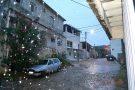 Chuva e frio durante toda a semana no ES. Em Barra de São Francisco, dia amanheceu chuvoso
