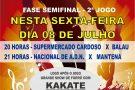 Sexta-feira tem os jogos de volta das Semi-Finais do Campeonato Sintético do Rio Preto