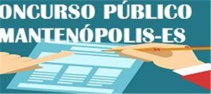 Prorrogado prazo de inscrições para concurso da Prefeitura de Mantenópolis