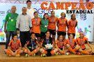 Equipe de Futsal Feminino de Barra de São Francisco é Campeã Estadual dos Jogos Escolares