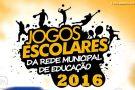 Jogos Escolares começam na próxima terça-feira (9) em Barra de São Francisco. Venha torcer pela sua escola! Confira a tabela