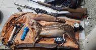 Suspeitos de caça são detidos em reserva natural de Linhares