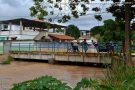 Risco de enchente já preocupa moradores em Barra de São Francisco