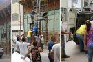Operário sofre descarga elétrica no centro de Mantena