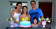 Maria Antônia recebe amigos para comemorar aniversário de 11 anos. Confira as fotos