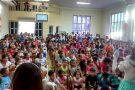 FESTA das CRIANÇAS na IGREJA BATISTA no CAMPO NOVO