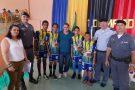 Comandante do 11º BPM prestigia encerramento da 1º Olimpíada Escolar em Água Doce do Norte