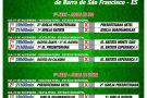 Começa nesta segunda o 3º Campeonato de Futebol das Igrejas Evangélicas de Barra de São Francisco. Confira a tabela