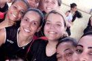 Equipes de Handebol de Barra de São Francisco e Mantena se enfrentaram em um amistoso cheio de emoções