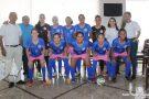 Meninas do Futsal de Barra de São Francisco viajam para representar o estado nos Jogos Escolares da Juventude