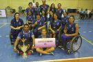 Time de cadeirantes capixabas fica em 3º lugar em campeonato nacional de basquete