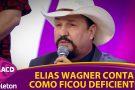 Cantor Capixaba Elias Wagner emocionou o Brasil em rede Nacional ao contar parte de sua história no Teleton 2016