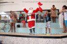 Confira as fotos da visita do Papai Noel na APAE de Barra de São Francisco