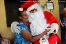 Papai Noel do Lions Clube leva alegria ao Lar dos Idosos em Barra de São Francisco