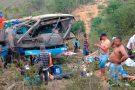 Acidente com ônibus deixa mortos na Bahia