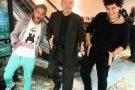 Jovens ensinam Lula a sarrar e conseguem registro histórico