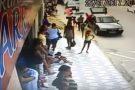 Vídeo mostra atropelamento que matou homem em Ecoporanga