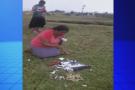 Pastora quebra imagens de santa e vídeo causa revolta na internet