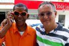 Zé da Festa visita Barra de São Francisco e revê antigos amigos