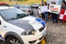Ninguém entra: familiares de policiais adotam nova estratégia para fortalecer movimento