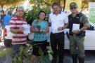 Prefeitura de Mantena dá belo exemplo e distribuiu mudas de árvores no dia Mundial da Água