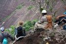 Cadela é resgatada após 18 dias presa em montanha de Lajinha de Pancas