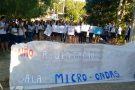 Salas micro-ondas: alunos protestam contra a demora em obra de escola em São Gabriel da Palha