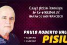 Amigos prestam homenagem ao ex-vereador Pisiu. Confira o vídeo