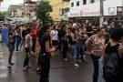 Protesto contra a reforma previdenciária também foi realizado em Barra de São Francisco