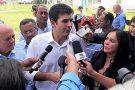 Vice-prefeito de Vila Pavão discute crise hídrica com Ministro e Senadores