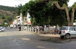 Uma pessoa fica ferida em grave acidente no centro de Ecoporanga