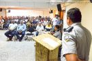 Policiais de Ecoporanga recebem novo Comandante do 11º BPM Luciano Suave