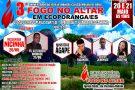 Assembleia de Deus Fogo no Altar comemora 3º aniversário em Ecoporanga. Confira a programação
