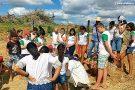 Arqueólogos ministram palestra para alunos em Vila Pavão