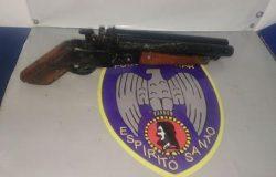 Apreendido com arma em Colatina, adolescente diz que sairia para roubar