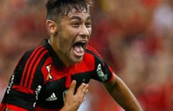 Neymar admite mágoa com Santos e fala do sonho de atuar pelo Flamengo