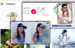 Com apenas 4 aninhos, a pequena MaJú, de Ecoporanga, faz sucesso na internet