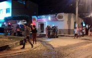 Lanchonete pega fogo e assusta moradores em Barra de São Francisco