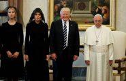 Apenas 7 mulheres têm permissão para usar branco ao visitar o Papa. Saiba quem são e por quê