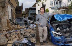 Dono usa BMW para impedir assalto e vira herói na Inglaterra