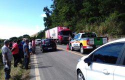 Acidente com caminhão da Aurora mata cinco pessoas em rodovia que liga Mantena a São João