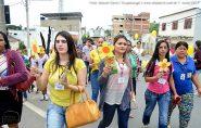 CREAS de Ecoporanga realiza passeata para promover o Dia Nacional de Combate ao Abuso e Exploração Sexual de Crianças e Adolescentes