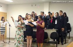 OAB de Barra de São Francisco recebe novos advogados e advogadas
