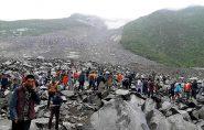 China: 5 mortos e 120 desaparecidos após deslizamento