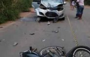 Homem morre em mais um acidente com moto em Água Doce do Norte