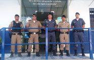 Policiais de Mantena e Barra de São Francisco compartilham informações para combater o crime na região