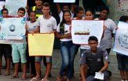 Polícia Militar e alunos da Escola de Monte Senir fazem conscientização no Dia Mundial do Meio Ambiente